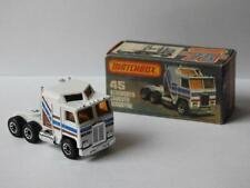 MATCHBOX SUPERFAST 45 KENWORTH CABOVER AERODYNE VNM IN RARE L PICTURE BOX 1982