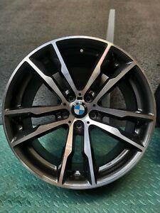 """Genuine BMW X5 F85 X6 F86 Rim 20 """" 611 2284650 front 10j #42"""