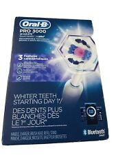 Oral-B Pro 3000 3D  White Smartseries Rechargeable toothbrush Bluetooth smart