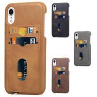 CoverKingz Apple iPhone XR Handy Hülle Cover Handy Case Schutzhülle Kartenfach