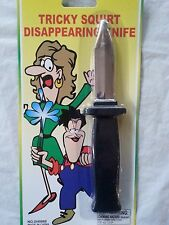 Disappearing Knife Retractable Tricky Magic Toy Plastic Knife