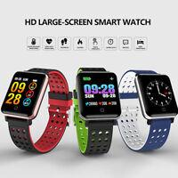 M19 Smart Watch Armband Blutsauerstoff Puls Schrittzähler für iOS Android SPC