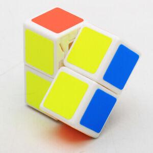 White 2X2X1 Rubiks Cube Magic Brain Twist Rubic Gift Kid Adult Rubix Puzzle Toy
