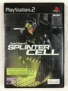 Tom Clancy's Splinter Cell (Sony PlayStation 2, 2003) - Complete - PS2 - PAL