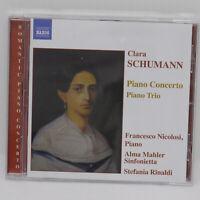 Clara Schumann Piano Concerto Piano Trio Francesco Nicolosi CD Album Music