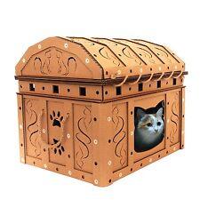 Dead Man's Chest Cardboard Cat House