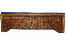 Antique Arts & Crafts Movement Limbert(?) Large Carved Wood Frieze Panel c.1905