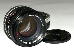 NICE! CANON FD 1:1.4/50 mm S.S.C FITS SONY A7 A7R A7RII A7S