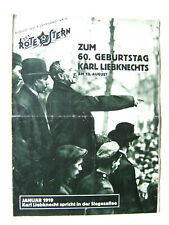 """""""Der Rote Stern"""" August 1931 Nr 10_Illustrierte Arbeiterzeitung der KPD"""