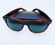 Vintage Bausch & Lomb  Ray Ban USA Wayfarer II Tortoise  Sunglasses 54mm w/ Case