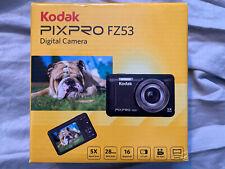 Kodak PixPRo FZ53 Digital Camera 5X 28mm 16 Megapixels 2.7 LCD Black - NIB