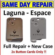 Renault Laguna - Full Key Card Repairs...Same Day Service + NEW CASE+