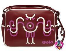 GOLA Wearable Art Gufo Rosso Retrò Spalla Borsa Da Palestra Della Scuola NUOVO CON ETICHETTE IN VENDITA