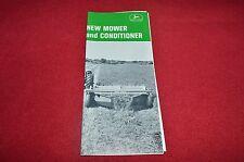 John Deere 480 Mower Conditioner Haybine Dealer's Brochure GDSD