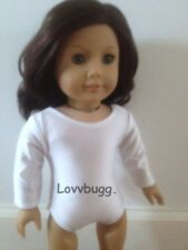 """White Ballet Dance Leotard Clothes for 18"""" American Girl Doll Great Selection"""