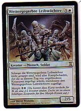 MTG GERMAN FOIL TIME SPIRAL WEATHERED BODYGUARDS MINT MAGIC THE GATHERING WHITE