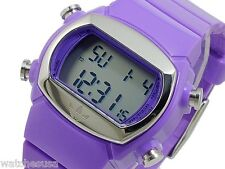 Adidas Women's ADH6053 Purple Midsize Candy Digital Rubber Strap Quartz Watch