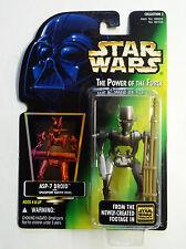 Star Wars - Moderne - POTF (Blister) - Hologramme - ASP 7-Droid