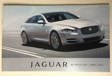 Jaguar . XJ . Jaguar XJ . Price List . April 2011 Sales Brochure