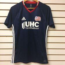 MLS Adidas New England Revolution Authentic Jersey Size Medium
