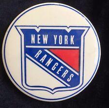 Vintage New York Rangers Button / Pin Hockey Fan Gear