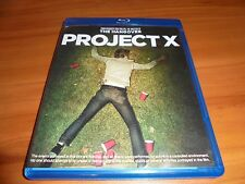 Project X (Blu-ray Disc, 2012) Used Thomas Mann, Oliver Cooper