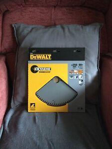 DeWalt DT4287 Extreme Circular Saw 250 x 30mm - 80 Z Tfz Dt 4287