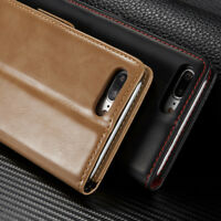 Phone Accessories For iPhone 6 7 Plus Genuine Leather Case Shockproof Slim Cover