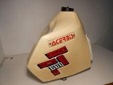 ACERBIS Tank Kraftstoffbehälter Yamaha TT 600 20L bis Bj 92 + Halter + Hähne TOP