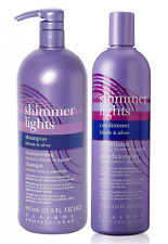 Clairol Shimmer Lights Shampoo 31.5oz + Conditioner 16oz by Clairol…