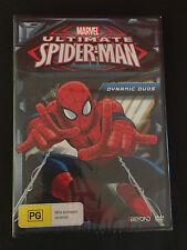 MARVEL Ultimate Spideman-Dynamite Duos DVD. Region 4. Brand New & Sealed
