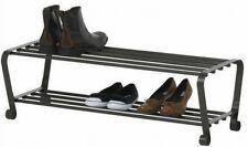 IKEA Portis Schuhaufbewahrung schwarz Schuhregal Schuhablage Stahl Schuhschrank