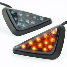 Motorcycle Lights 2pcs Moto LED Triangle Clignotant Lampe De Clignotant étanche