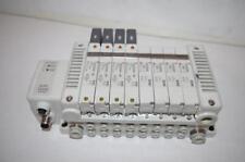 SMC # EX500 SERIES MANIFOLD &  (4EA.)  VVQ2000-10A-1  &   (4EA.)  VQC2200-5B