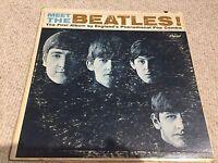 The Beatles - Meet The Beatles, Capitol T 2047, 1968 Mono LP