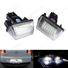 Feux LED De Plaque d'Immatriculation Peugeot 206CC 206SW 308 Partner M49 M59 B9