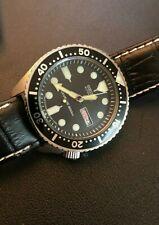 Seiko SKX007 with Vintage 6309 Movement -- Mod Dive Watch