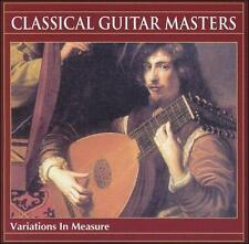 Classical Guitar Masters: Variations in Measure CD NEW/SEALED FREE SHIPPING