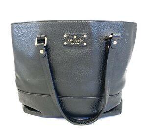 Kate Spade Black Leather Bag Tote Bag Kate Spade Tote Bag Leather Tote