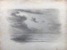 AUGUST HEINRICH SCHIØTT (1823-1895) BLICK AUF DAS MEER - HIGH QUALITY 22,5 X 30