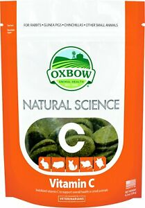 Oxbow Natural Science Vitamin C for Small Animals - 60 tablets