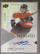 SCOTT LAUGHTON 2013-14 Trilogy RC Premieres AUTO Level 1 #182 (042/699)