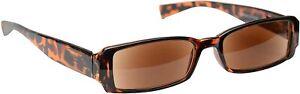 The Reading Glasses Company Brown Tortoiseshell Sun Readers UV400 Womens +1.50