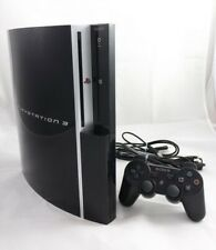 Sony PlayStation 3 Konsole 40 GB Schwarz PS3 + Original Controller  - GUT