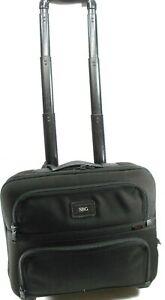 "Tumi Rolling Travel Case Black Handle Extends 24.75""/Wheels 3""/ Width 16""/"