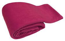 LUSSO Rosa Caldo Morbido Grande 225cm x 254cm divano in pile Divano Letto Coperta Buttare