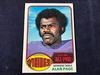 Q3-62 FOOTBALL CARD - ALAN PAGE MINNESOTA VIKINGS - CARD #150 - 1976 TOPPS