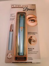 Flawless Brows Women's Painless Trimmer Electric Eyebrow Hair Remover