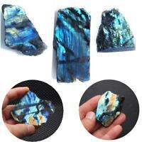 Natural Crystal Moonstone Raw Mineral Specimen Rough Loose Gemstone Healing 100g
