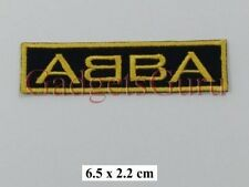 {262} ABBA Rock Music band Logo Embroidery iron on/sew on patch